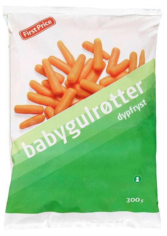 Babygulrøtter 300g First Price