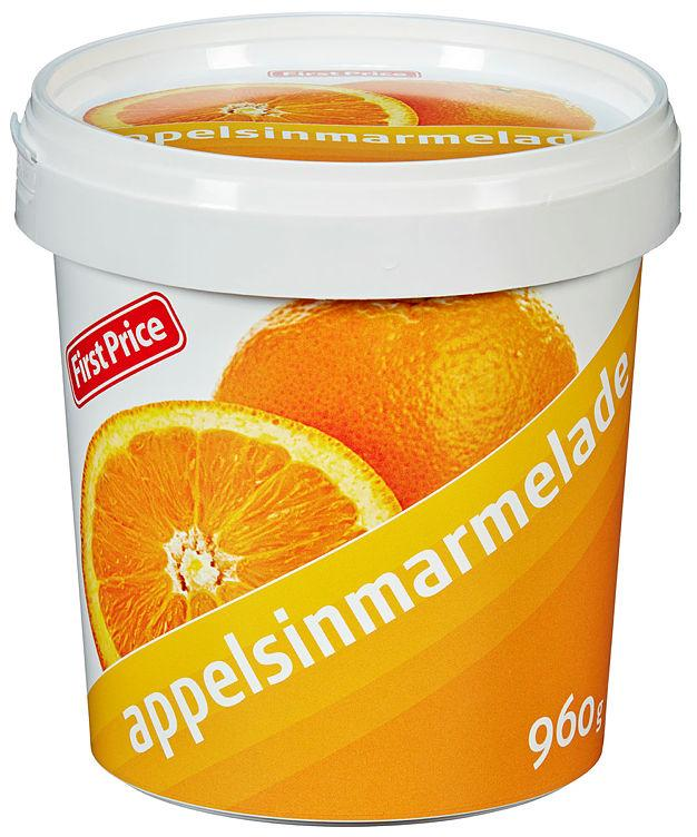 Appelsinmarmelade 960g First Price