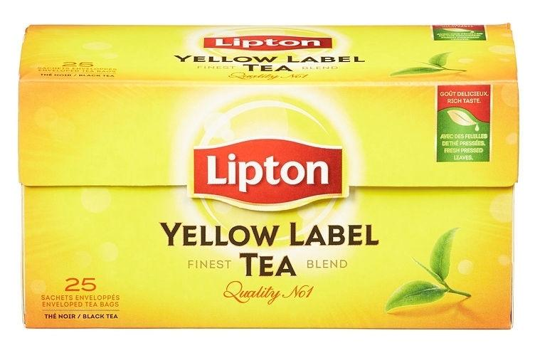 Lipton Yellow Label 25 poser