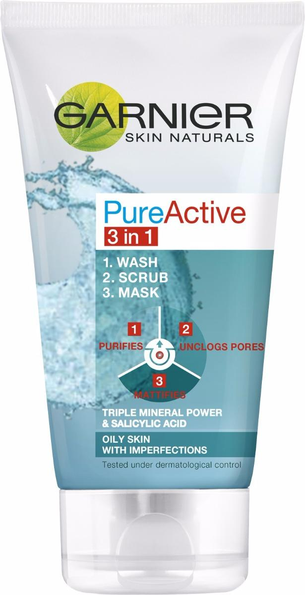 Pure Active Ansiktsrens 3-in-1 150 ml