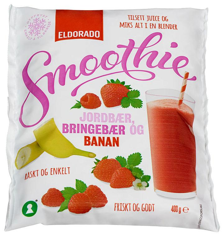 Smoothie Mix Jord/Bring/Ban 400g Eldorado