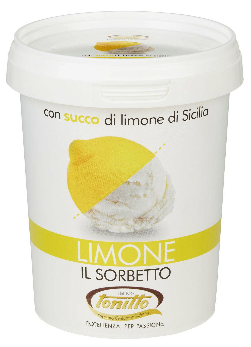 Sorbetto Limone Lime, 0,5 l