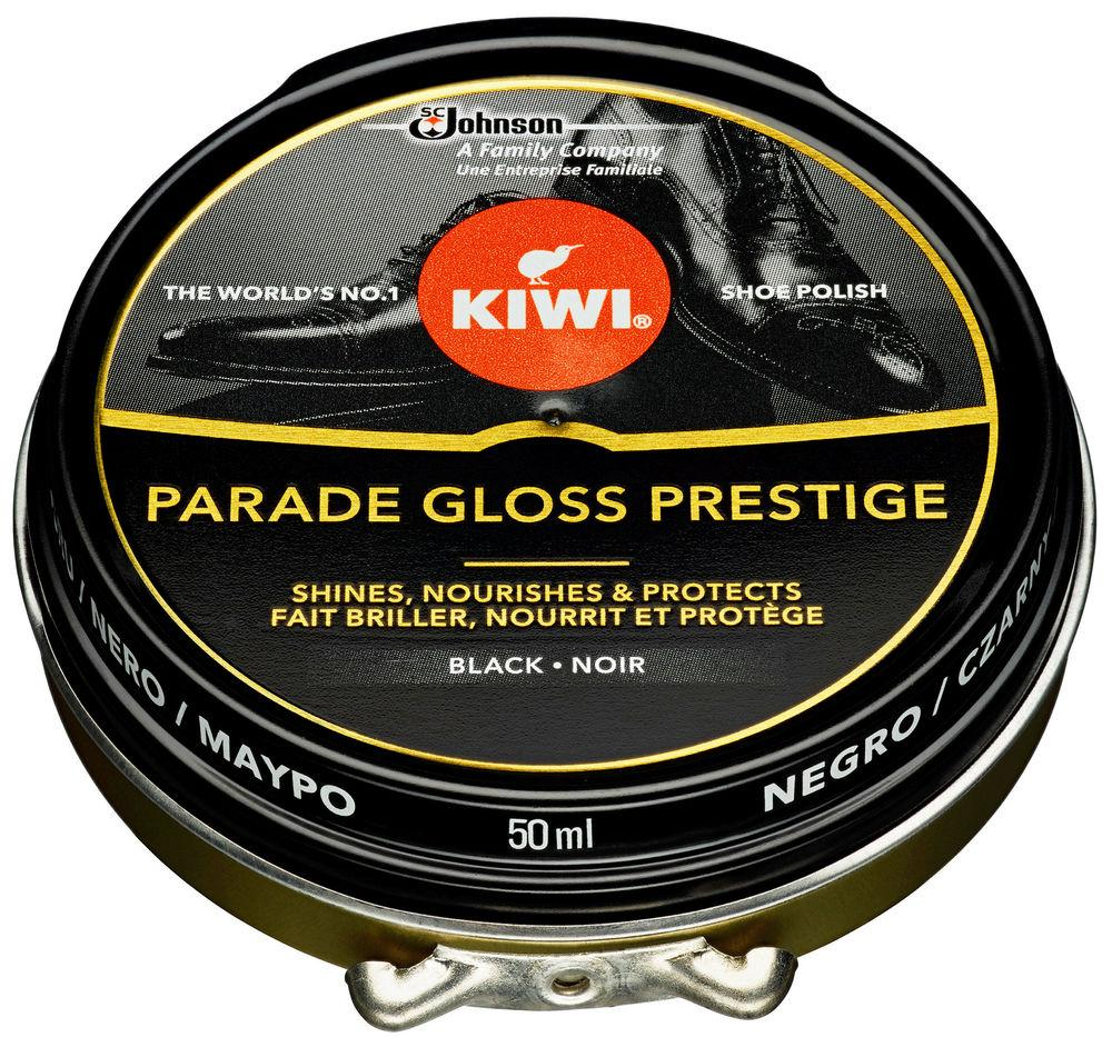 Kiwi Parade Gloss Black Svamp 50 ml