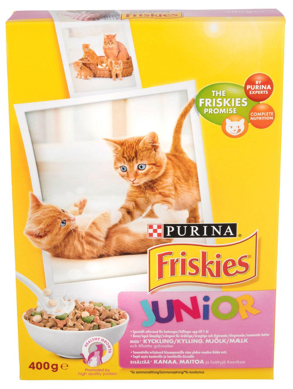 Junior Katt Friskies, 400 g