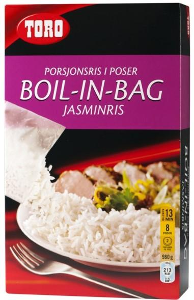 Toro Jasminris Boil In Bag, 8 poser